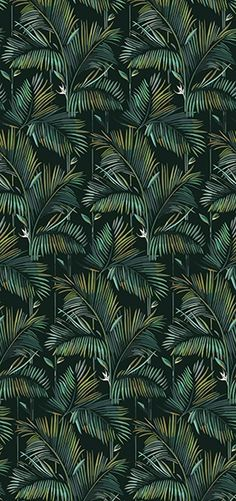 Tropical wallpaper BRASILIA Contemporary Wallpaper 2016 Collection By Wall&decò design Lorenzo De Grandis Wallpaper 2016, Wall Wallpaper, Pattern Wallpaper, Wallpaper Jungle, Adhesive Wallpaper, Motif Jungle, Jungle Pattern, Post Contemporary, Contemporary Wallpaper