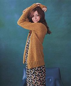 "Photo from album ""Kristina McGowan More Modern Top-Down Knitting"" on Yandex. Modern Tops, High Neck Dress, Turtle Neck, Album, Knitting, Sweaters, Beautiful, Yandex Disk, Dresses"