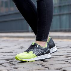 Brighten up your sneaks collection with the Asics Womens Gel-Lyte Speed  Trainer.