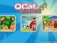 "QCat- Toddler Animal Park Free  Android App - playslack.com , ""QCat -Toddler's Animal Park"" is a funny, colorful and beautiful app for little baby. Children can move the animals to other place, touch or tap them to hear their sound and see the animations. Every touch might be have different animation.There is small secret or hiding animal some where, try to find and tap it.This app include 4 scenes, each scene has below animals:Jungle: elephant, giraffe, lion, monkey, snake, parrotFarm…"