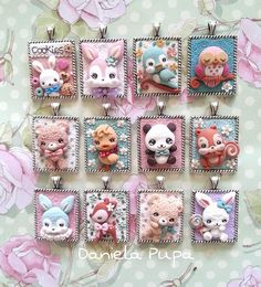 pendants by Daniela Pupa Kawaii Jewels