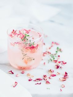 Rose cocktails!