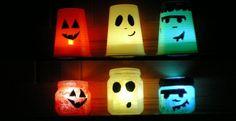 Lanterne fai-da-te: http://www.unadonna.it/halloween/lanterne-di-halloween-con-materiale-riciclato/46759/