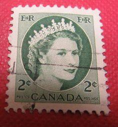 Old Used Stamps Canada Stamps, Canada, War, Vintage, Stamping, Primitive, Postage Stamps