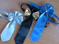 Праздничный галстук для мальчиков в стиле канзаши | kanzashi | Postila