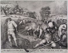 Питер Брейгель Старший (1525—1569), гравюры (109 работ)