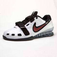 new styles 6de05 9b4e8 Nike Romaleos 2 White Black Red (Men s) Gym Gear For Men,