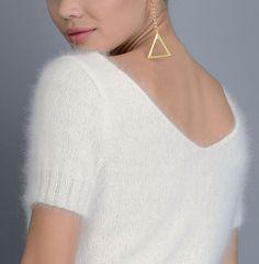Modèle pull Angora point jersey Femme - Modèles Gratuits Femme - Phildar