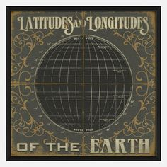 Lat And Long Of The Earth II by Signs of the Olden Times now featured on Fab.