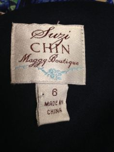 Suzi Chin Maggy Boutique dresses can sell for $50 on eBay in used condition