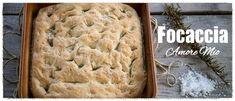 Ιταλική Φοκάτσια (Focaccia) - madameginger.com Banana Bread, Yummy Food, Cooking, Desserts, Recipes, Beverages, Kitchen, Tailgate Desserts, Deserts