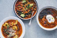 Green Kitchen Stories » One Soup – Three Ways