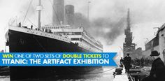 We're giving away two sets of double tickets to Titanic Expo - South Africa (worth R270 per prize).   Enter now: https://apps.agorapulse.com/app/go/56377/61256  https://www.facebook.com/CapeTownMagazine