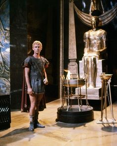 "Roddy McDowall as Octavian in ""Cleopatra"" (1963)"