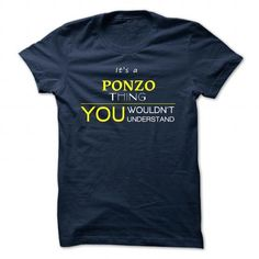 Is PONZO T Shirt Good for PONZO Face - Coupon 10% Off