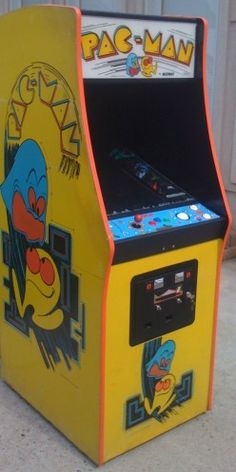 PacMan Western Cabinet