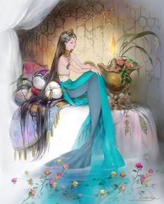 Ideas Anime Fantasy Art Mythical Creatures For 2019 Anime Mermaid, Mermaid Art, Tattoo Mermaid, Vintage Mermaid, Fantasy Mermaids, Mermaids And Mermen, Mermaid Drawings, Art Drawings, Mermaid Paintings