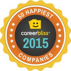 Looking for a happier job in 2015? No problem, CareerBliss is here to help!  Today, CareerBliss announces the 5th annual CareerBliss 50 Happiest Companies in America awards list....