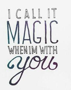 Magical.