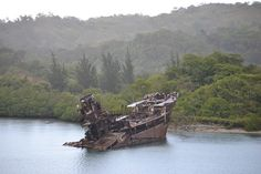 by rachelllllx333 Ship Wreck Roatan Honduras