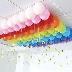 Trolls Birthday Party, Rainbow Birthday Party, Unicorn Birthday Parties, Unicorn Party, Birthday Party Themes, Rainbow Parties, My Little Pony Birthday Party, Birthday Ideas, Rainbow Party Decorations