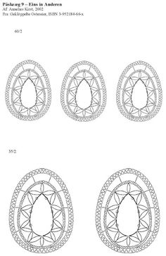 ANNELIES - ana sarceda - Picasa-Webalben Easter Egg Pattern, Bobbin Lace Patterns, Lace Heart, Lace Jewelry, Needle Lace, Lace Detail, Easter Eggs, Tatting, Creations