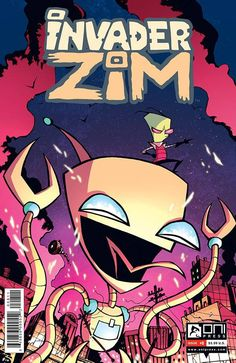 Invader Zim (2015) Issue #8