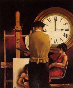 Jack Vettriano - The Critical Hour