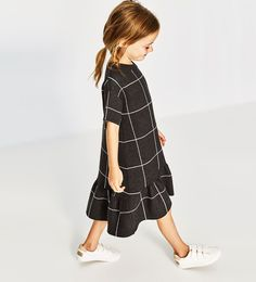 RUFFLED KNIT DRESS-DRESSES AND JUMPSUITS-GIRL | 5 - 14 years-KIDS | ZARA United States