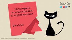 Cita de #BillGates #blackcatjaen