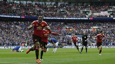 Anthony Martial qualifie Manchester United pour la finale d'un but dans les arrêts de jeu - FA Cup 2015-2016 - Football - Eurosport