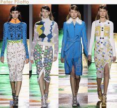 London Fashion Week fall 2015 Peter Pilotto & erdem