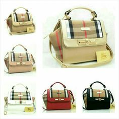 Burberry 1868 super - canvas+klt 34x12x21/ black-red-apricot-gold-pink-white