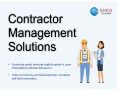 Sheqportal offers best contractor management solution, for field service, provides greater visibility and control over the service the end customer receives.