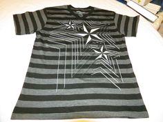 Dikotomy Boy's Youth L Large short sleeve t shirt casual Star stripes NWOT# #Dikotomy