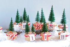 Advent Calendar Tutorial @ the City Cupcake Blog