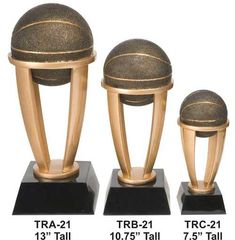 Weighty one-piece, bronze cast resin design. Includes a personalized engraving plate with 4 lines of engraving. 30 characters/spaces per line! Basketball Trophies, How To Memorize Things, Resin, Tower, It Cast, Plate, Bronze, Characters, Hand Painted
