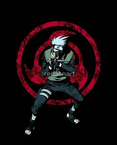 Red Sharingan of Kakashi