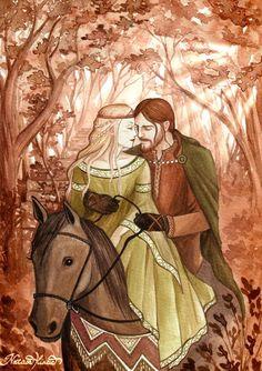 Fantasy Illustrations by Natasa Ilincic