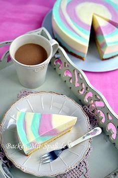 #Backen #Joghurt-Zebrakuchen