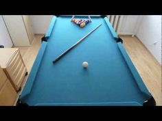 Homemade pool table