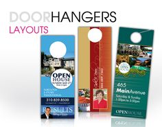Let the neighborhood know about your upcoming Open House, or your Just Listed/Just Sold properties with myprintXpress Door Hangers. http://myprintXpress.com