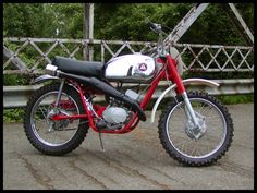 Hodaka Ace 100 my brother owned. I won first  place in my first race on this bike. Still love the tank, they don't make them like this anymore.