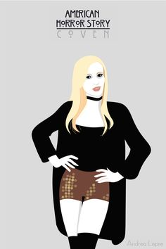 Madison Montgomery by AndreaLepre on DeviantArt American Horror Story Coven, American Horror Show, Ahs, Madison Montgomery, Witch Coven, Misty Day, Horror Artwork, Gothic Horror, Great Stories