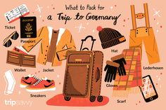 What to pack for Germany? This helpful travel packing list includes all travel-musts for your vacation in Germany, including tips on what clothing to pack for when in Germany. River Cruises In Europe, European River Cruises, Cruise Europe, Christmas In Germany, German Christmas Markets, Cruise Offers, Cruise Boat, Student Travel, Vacation Memories