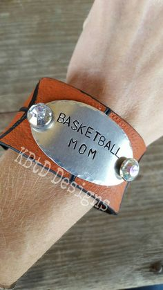 Check out this item in my Etsy shop https://www.etsy.com/listing/267302252/custom-basketball-cuff
