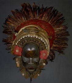 Masque africain Dan de Côte d'Ivoire