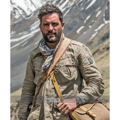 Levison Wood Walking The Himalaya Jacket Mens Travel Jacket, Levison Wood, Fashion Moda, Mens Fashion, Adventure Outfit, Adventure Style, Safari Outfits, Casual Outfits, Men Casual