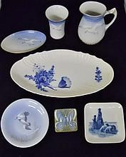 Mixed Collection of Porcelain, Denmark WWW.JJAMESAUCTIONS.COM