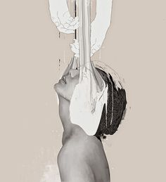 Paintings and mixed media by Januz Miralles | http://ineedaguide.blogspot.com/2015/04/januz-miralles-update-3.html | #art #paintings